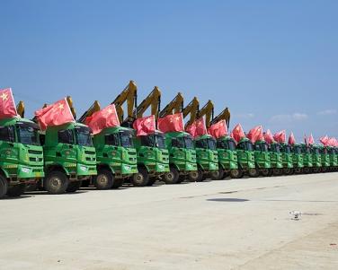 绿色环保运输